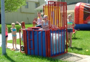 Dunk Tank Rental Kansas City Party Success