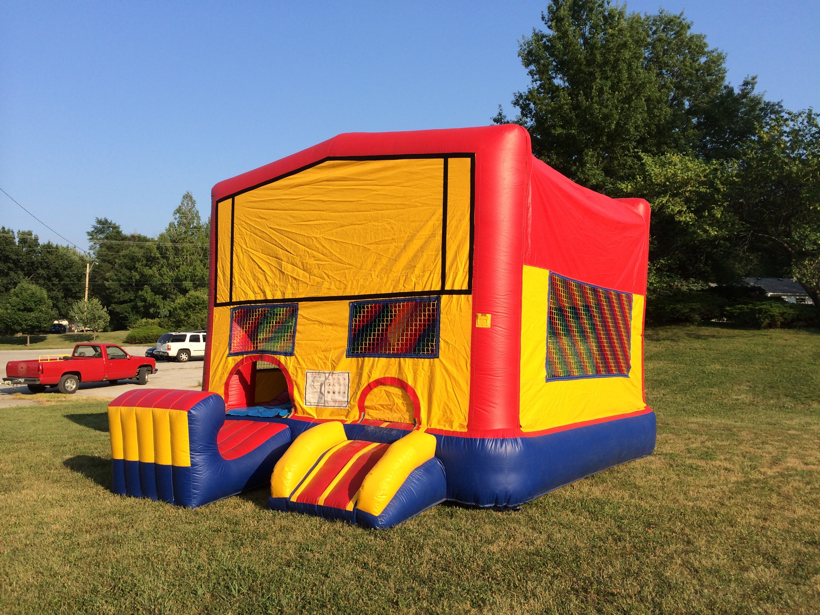 5 In 1 Inflatable Combo Kansas City Mo