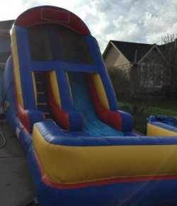 16 wave water slide rental kansas city birthday party rental