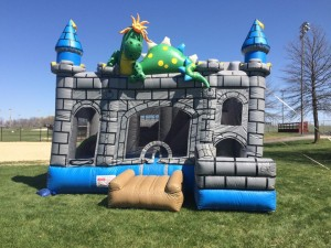 4in1 Dragon Castle Rental